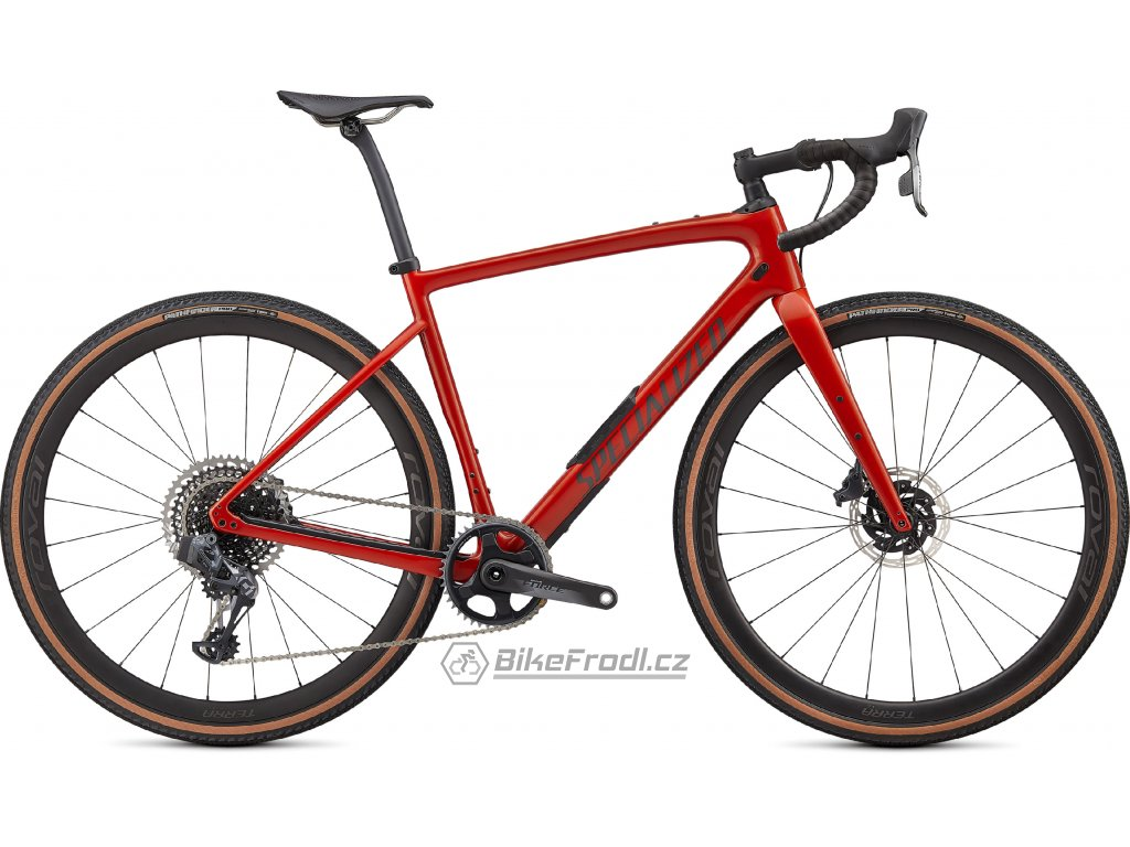 SPECIALIZED Diverge Pro Carbon, Gloss Redwood/Smoke/Chrome/Clean, vel. 58 cm