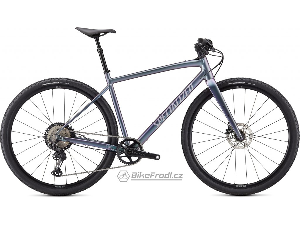 SPECIALIZED Diverge Expert E5 EVO, Gloss/Brushed/Chrome/Clean, vel. M