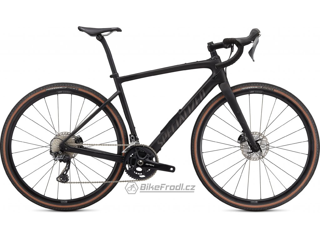 SPECIALIZED Diverge Comp Carbon, Satin Carbon/Smoke/Chrome/Clean, vel. 61 cm