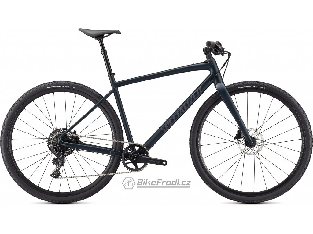 SPECIALIZED Diverge Comp E5 EVO, Satin Forest Green/Black Reflective/Chrome/Clean, vel. M