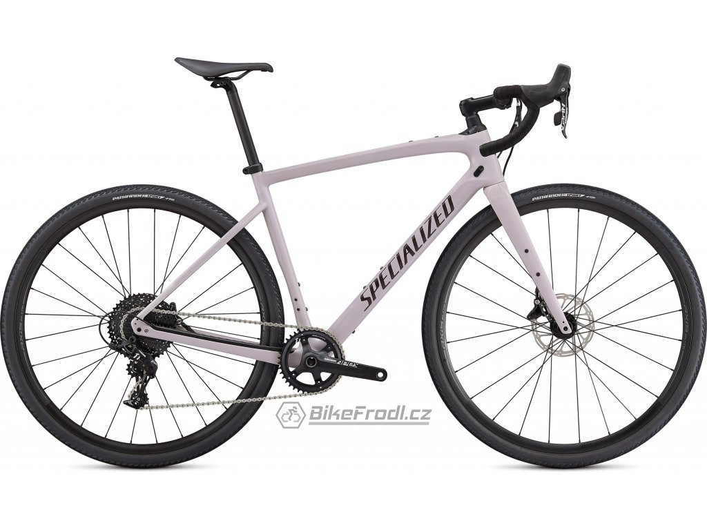 SPECIALIZED Diverge Base Carbon, Gloss Clay/Cast Umber/Chrome/Clean, vel. 61 cm