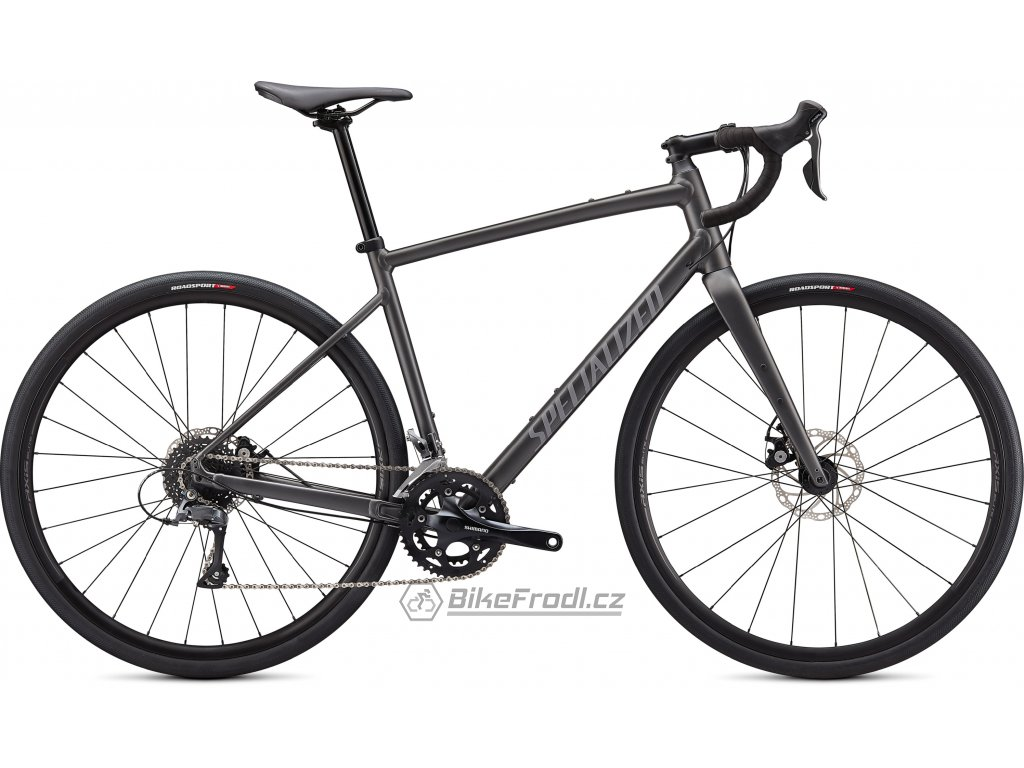SPECIALIZED Diverge Base E5, Satin Smoke/Cool Grey/Chrome/Clean, vel. 54 cm
