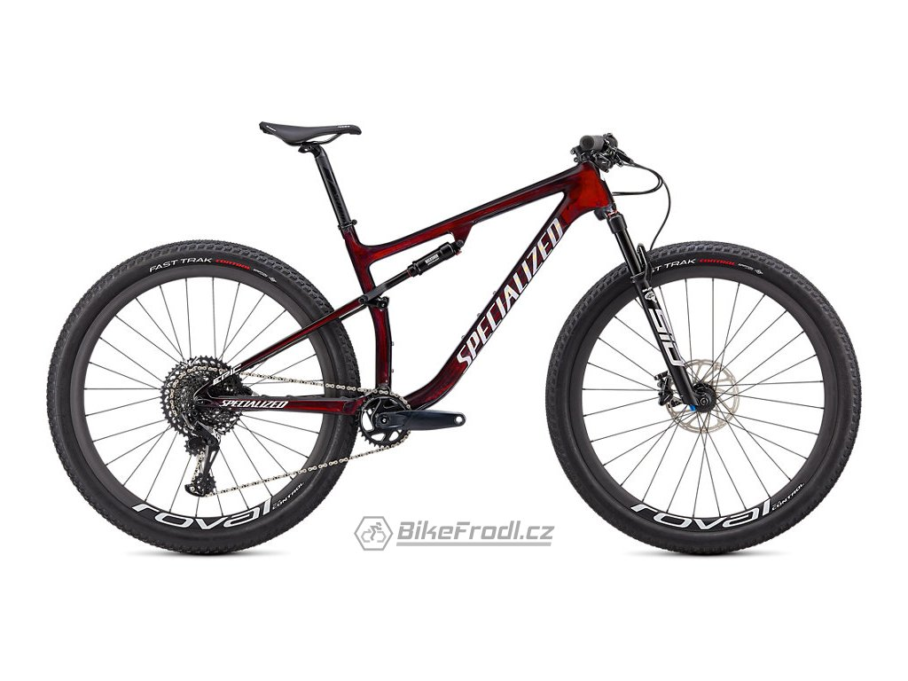 SPECIALIZED Epic Expert, Gloss Red Tint/White Gold Ghost Pearl, vel. S
