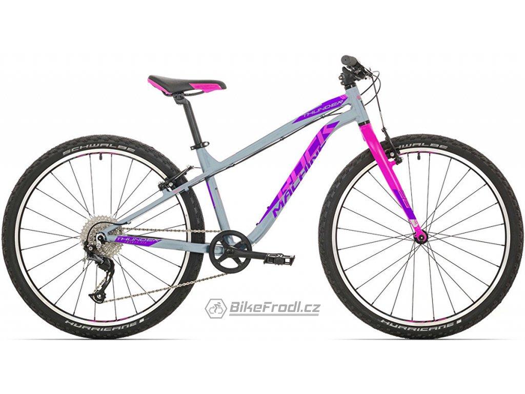 ROCK MACHINE Thunder 26 gloss grey/pink/violet, vel. XS