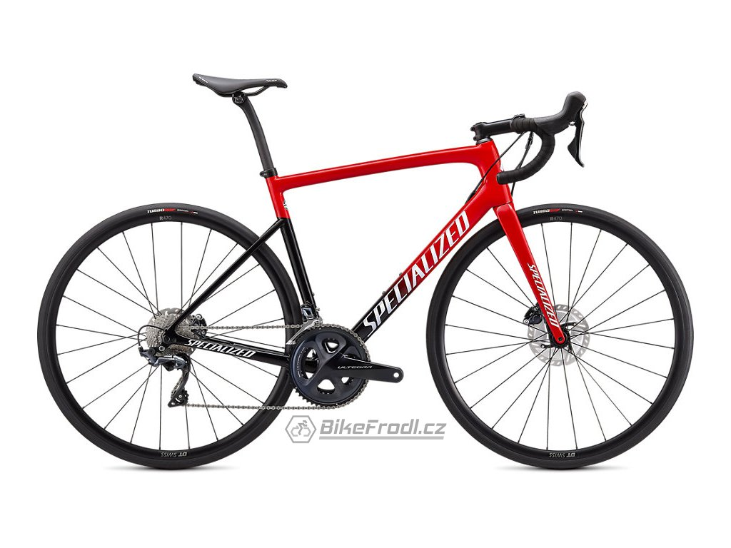 SPECIALIZED Tarmac SL6 Comp Red Tint Fade/White with Gold Pearl, vel. 54 cm