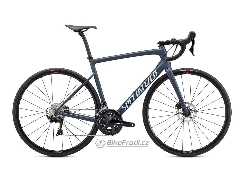 SPECIALIZED Tarmac SL6 Sport Cast Blue Metallic/Ice Blue/Flo Red, vel. 49 cm