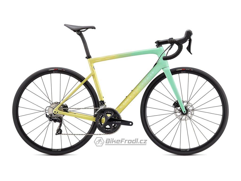 SPECIALIZED Tarmac SL6 Sport Oasis/Ice Yellow/Blush, vel. 49 cm