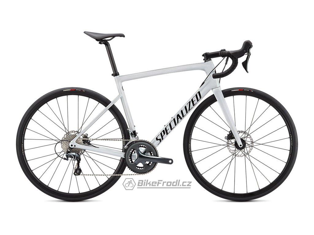 SPECIALIZED Tarmac SL6 Metallic White Silver/Tarmac Black, vel. 49 cm
