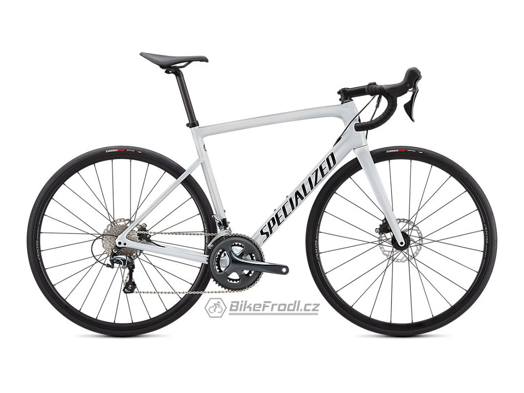 SPECIALIZED Tarmac SL6 Metallic White Silver/Tarmac Black, vel. 61 cm