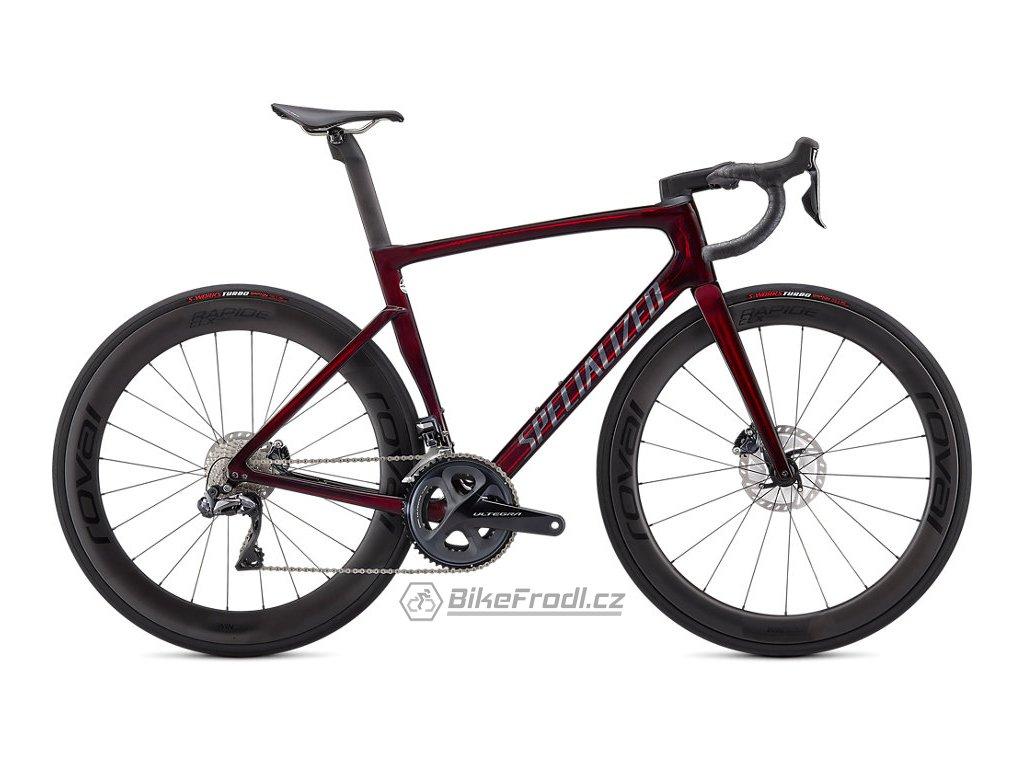 SPECIALIZED Tarmac SL7 Pro - Ultegra Di2 Red Tint/Carbon, vel. 52 cm