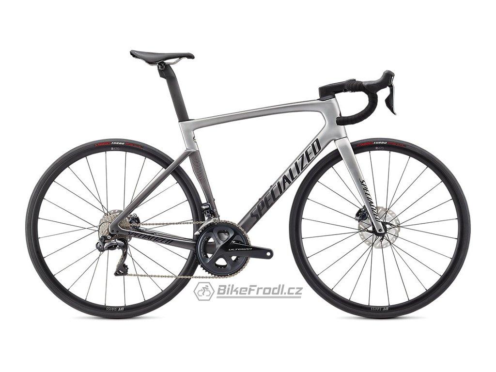 SPECIALIZED Tarmac SL7 Expert - Ultegra Di2 Light Silver/Smoke Fade/Black, vel. 44 cm