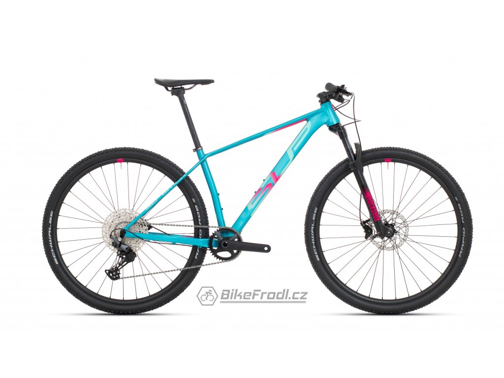 """SUPERIOR XP 909 Matte Turquoise/Pink Red, vel. 17.5""""(M)"""