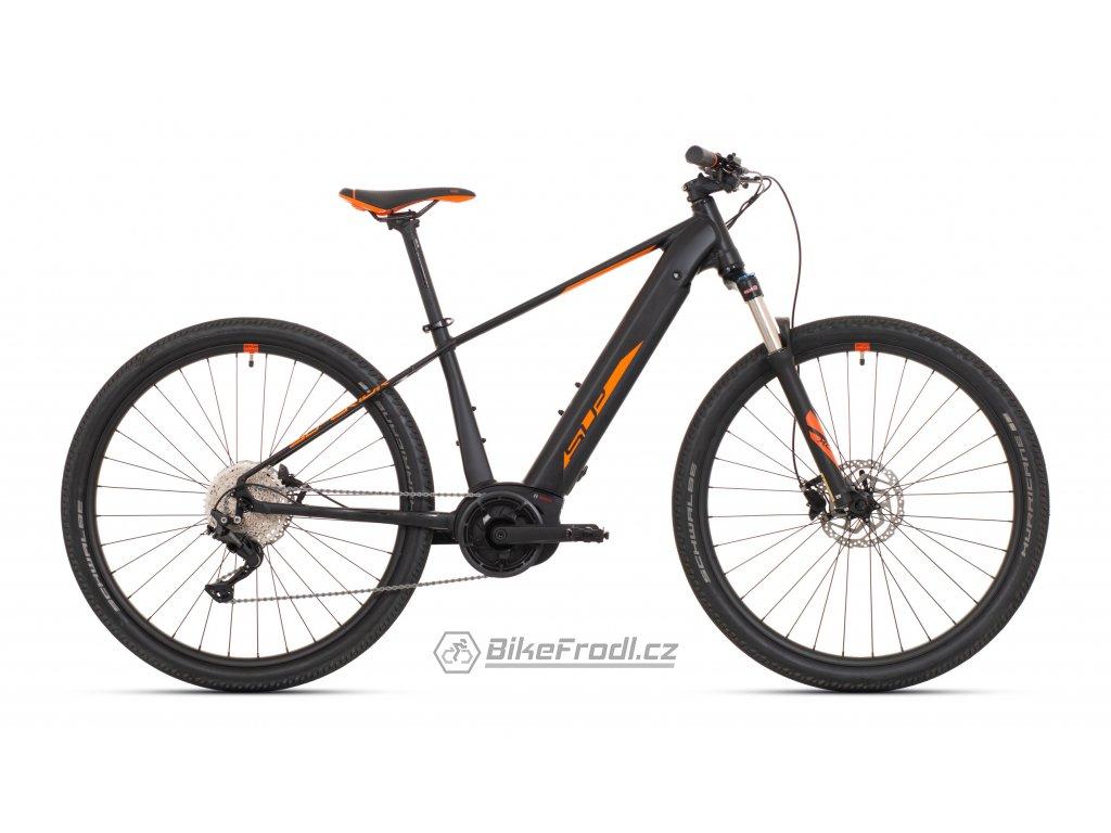 """SUPERIOR eXC 7039 B Matte Black/Orange, vel. 17.5""""(M)"""