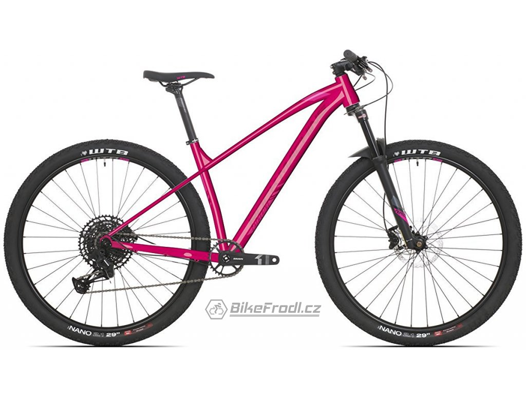 ROCK MACHINE Catherine 40-29 gloss pink/light pink/crimson, vel. XS