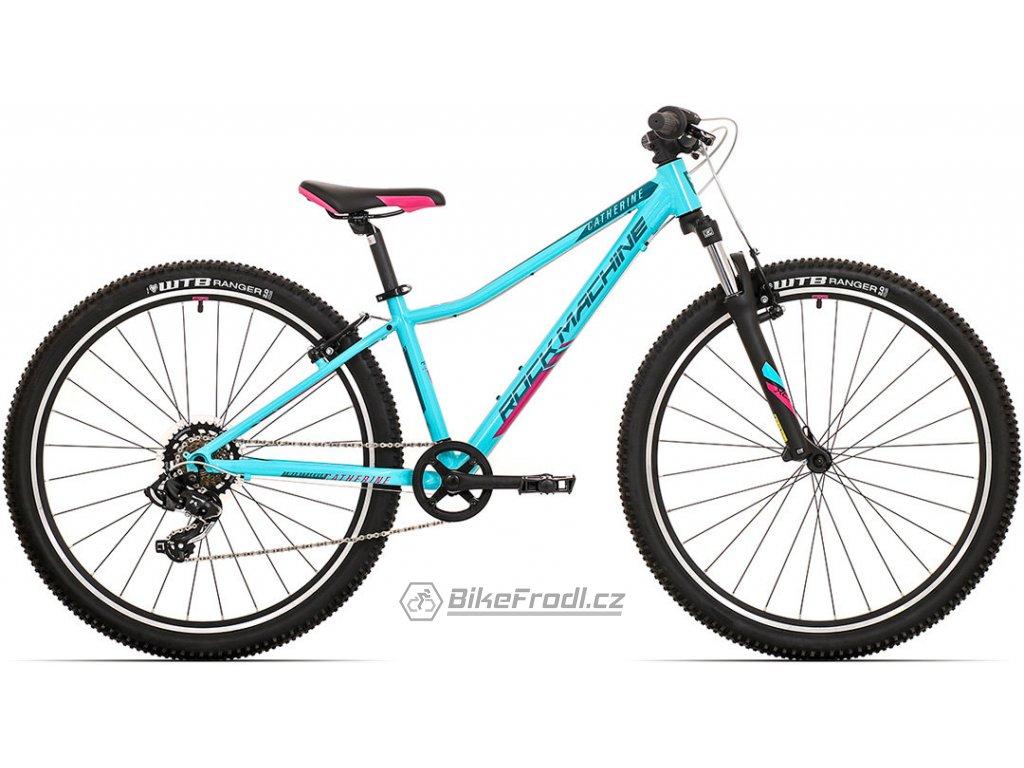 ROCK MACHINE Catherine 27 gloss neon mint/petrol blue/pink, vel. XS