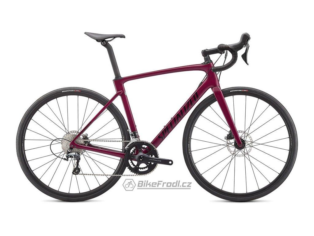SPECIALIZED Roubaix Gloss Raspberry/Tarmac Black, vel. 56 cm