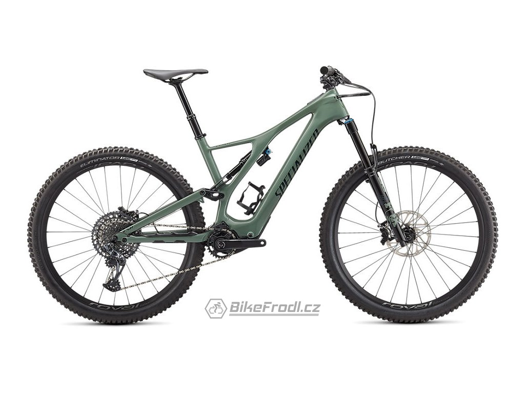 SPECIALIZED Turbo Levo SL Expert Carbon Gloss Sage/Forest Green, vel. XL