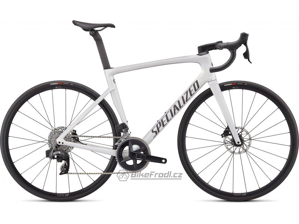 SPECIALIZED Tarmac SL7 Comp - Rival eTap AXS Gloss Metallic White Silver/Smoke, vel. 49