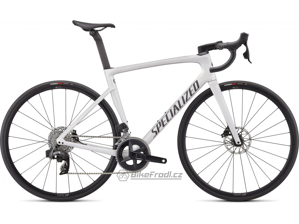 SPECIALIZED Tarmac SL7 Comp - Rival eTap AXS Gloss Metallic White Silver/Smoke, vel. 56