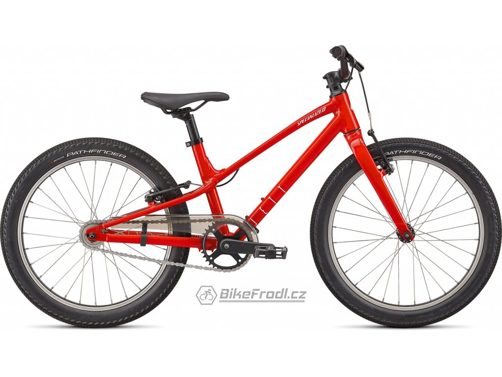 SPECIALIZED Jett 20 Single Speed Gloss Flo Red/White