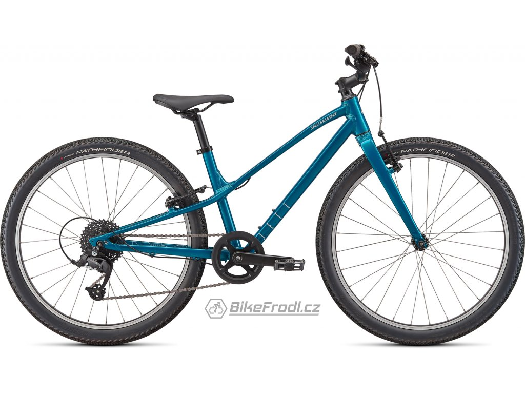 SPECIALIZED Jett 24 Gloss Teal Tint/Flake Silver