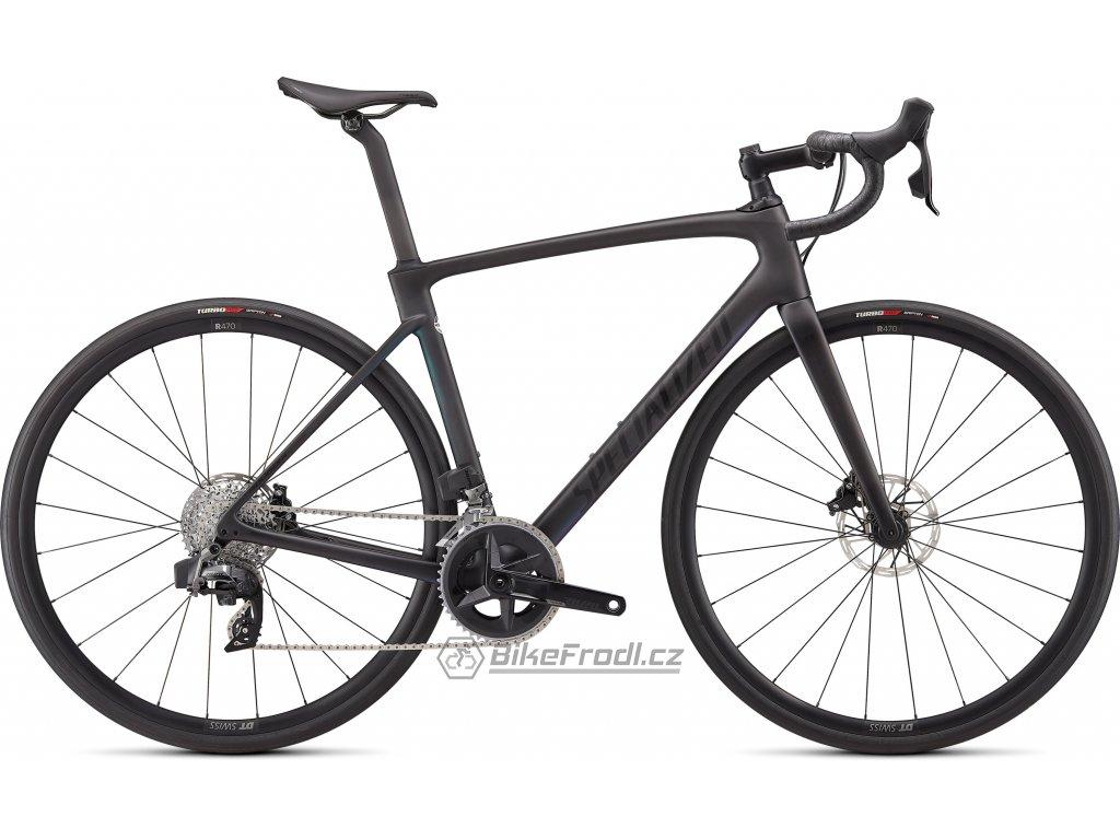 SPECIALIZED Roubaix Comp - SRAM Rival eTap AXS Satin Carbon Oil Gold Fade, vel. 49