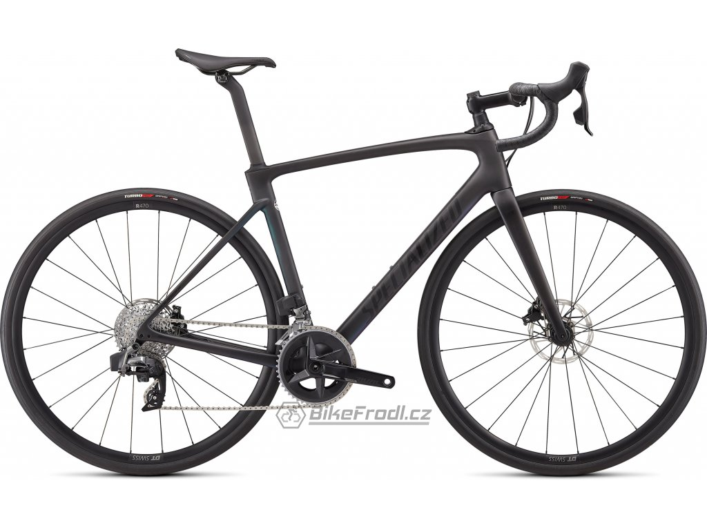 SPECIALIZED Roubaix Comp - SRAM Rival eTap AXS Satin Carbon Oil Gold Fade, vel. 61