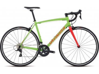 SPECIALIZED Allez E5 Sport Monster Green/Tarmac Black/Rocket Red, vel. 54 cm
