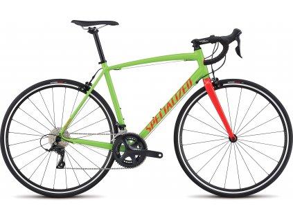 SPECIALIZED Allez E5 Sport Monster Green/Tarmac Black/Rocket Red, vel. 56 cm