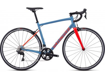 SPECIALIZED Allez Elite Gloss Storm Gray/Rocket Red, vel. 49 cm