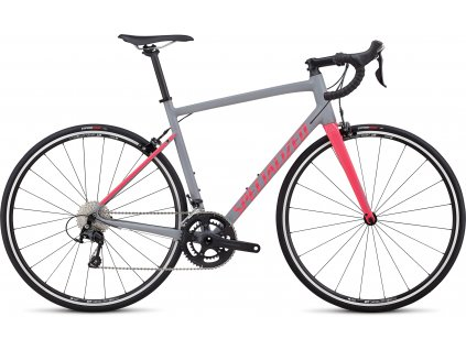 SPECIALIZED Allez Elite Satin Cool Gray/Gloss Hot Pink, vel. 56 cm