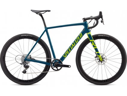 SPECIALIZED CruX Expert Gloss Dusty Turquoise/Hyper, vel. 56 cm