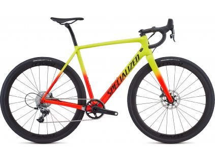 SPECIALIZED CruX Expert Gloss Team Yellow/Rocket Red/Tarmac Black/Clean, vel. 54 cm