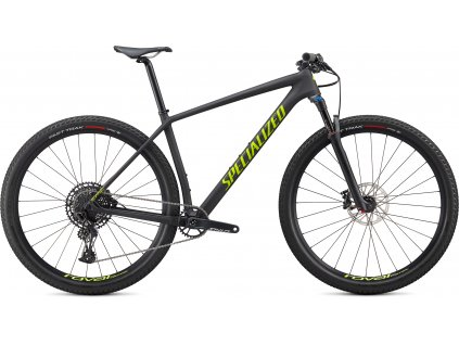 SPECIALIZED Epic Hardtail Comp Satin Carbon/Hyper Green, vel. S