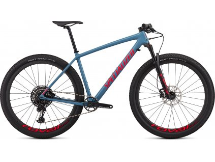 SPECIALIZED Epic Hardtail Expert Gloss Storm Grey/Rocket Red, vel. M