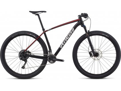 SPECIALIZED Epic Hardtail Gloss Black/White/Red, vel. M
