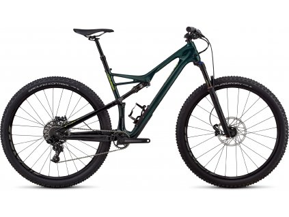 SPECIALIZED Men's Camber Comp Carbon 29 - 1x Gloss Cavendish Green/Hyper Green Clean, vel. XL
