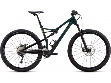 SPECIALIZED Men's Camber Comp Carbon 29 - 2x Gloss Cavendish Green/Hyper Green Clean, vel. XL