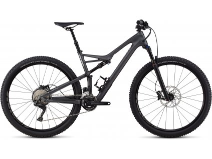 SPECIALIZED Men's Camber Comp Carbon 29 - 2x Satin Graphite/Flake Silver Clean, vel. S