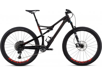 SPECIALIZED Men's Camber Expert 29 Gloss Carbon/Red Flake Tint Carbon/Rocket Red, vel. XL