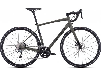 SPECIALIZED Men's Diverge E5 Elite Satin Oak Green/Black, vel. 48 cm