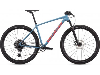 SPECIALIZED Men's Chisel Expert Gloss Storm Grey/Rocket Red, vel. M