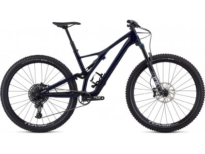 SPECIALIZED Men's Stumpjumper ST Comp Carbon 29 - 12-speed Gloss Blue Tint Carbon/White, vel. XL