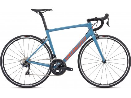 SPECIALIZED Men's Tarmac Comp Gloss Storm Grey/Rocket Red/Clean, vel. 54 cm
