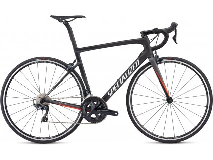 SPECIALIZED Men's Tarmac Comp Satin Carbon/Charcoal/Rocket Red/White, vel. 49 cm