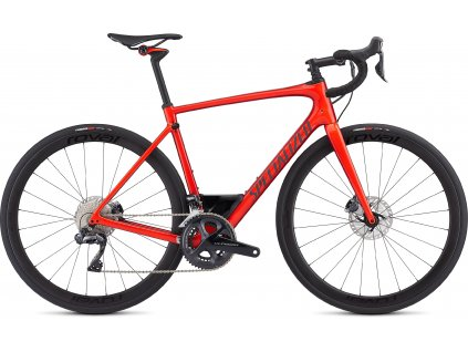 SPECIALIZED Roubaix Expert Gloss Rocket Red/Candy Red Edge Fade/Clean, vel. 49 cm