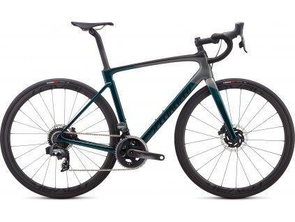 SPECIALIZED Roubaix Pro - SRAM Force eTap AXS Gloss Teal Tint/Charcoal/Blue, vel. 49 cm