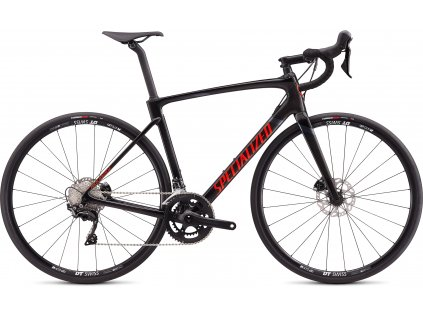 SPECIALIZED Roubaix Sport Gloss Carbon/Rocket Red/Black, vel. 49 cm