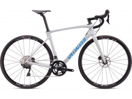 SPECIALIZED Roubaix Sport Gloss Dove Gray/Pro Blue, vel. 52 cm