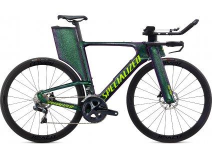 SPECIALIZED Shiv Expert Disc Gloss Green Chameleon/Hyper Green, vel. S